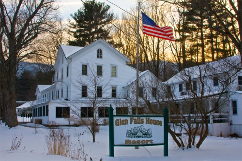 The Glen Falls Resort, owned and operated by my friend, Rich Rosado and wife, Maria.