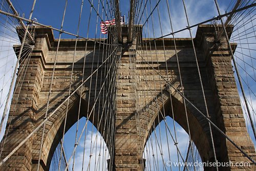 'Brooklyn Bridge Detail' © Denise Bush