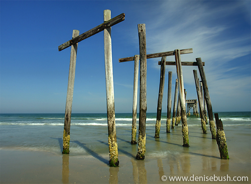 'Old Broken Pier' © Denise Bush