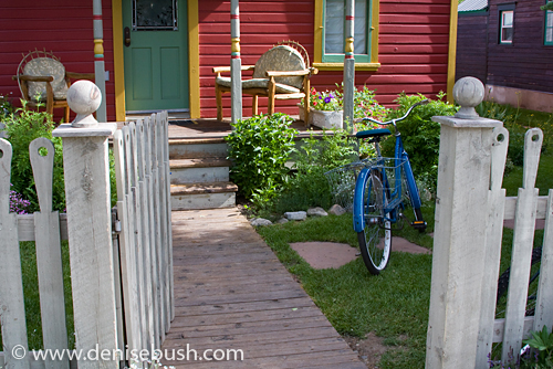 'Bicycle at the Red House' © Denise Bush