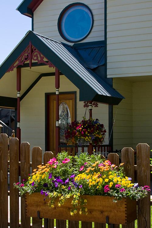 'Crested Butte Home' © Denise Bush