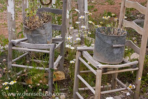 'Garden Seating' © Denise Bush