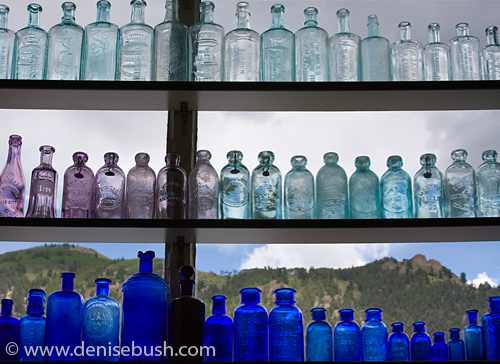'Old West Bottles' © Denise Bush