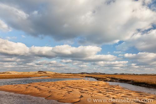 'Clouds & Dunes'  © Denise Bush