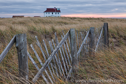 'Race Point Coast Guard Station'  © Denise Bush