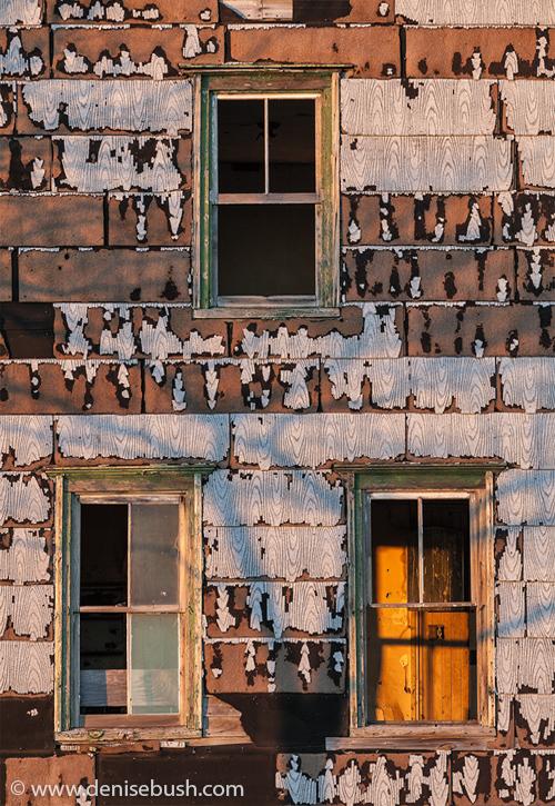 'Tenant House Sunset'  © Denise Bush