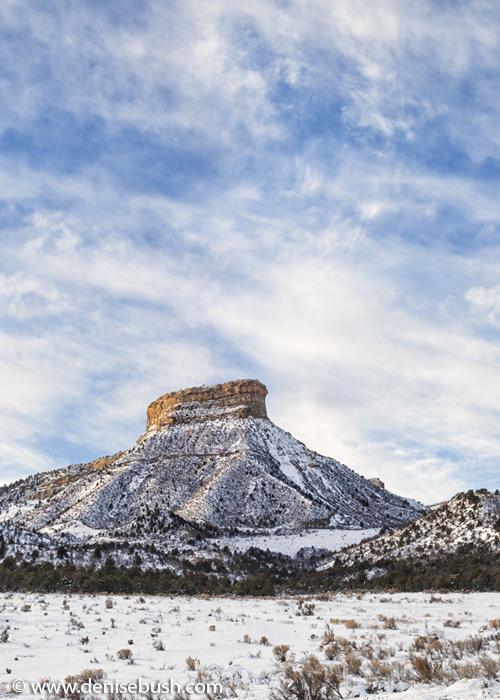 'Mesa Verde In Winter'  © Denise Bush