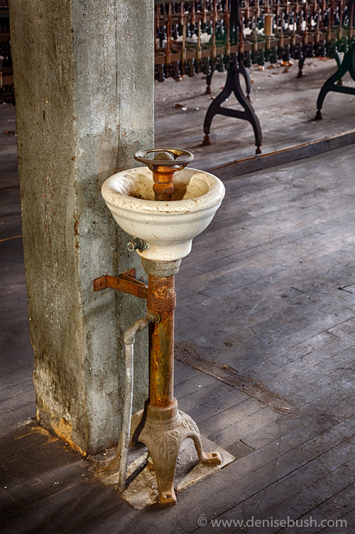 'Factory Fountain'  © Denise Bush