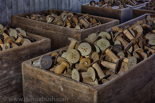 'More Spools'  © Denise Bush