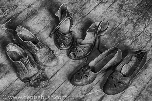'Shoe Assortment'  © Denise Bush