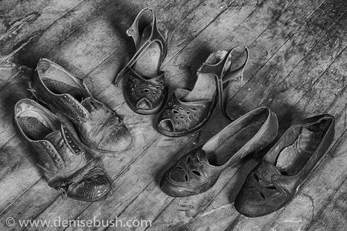 'Shoe Assortment'  © Denise Bush