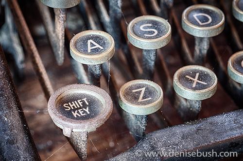 'Shift Key'  © Denise Bush