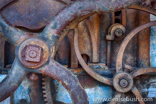 'Stationary Gears'  © Denise Bush