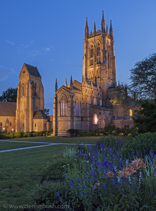 'Bryn Athyn at Dusk'  © Denise Bush
