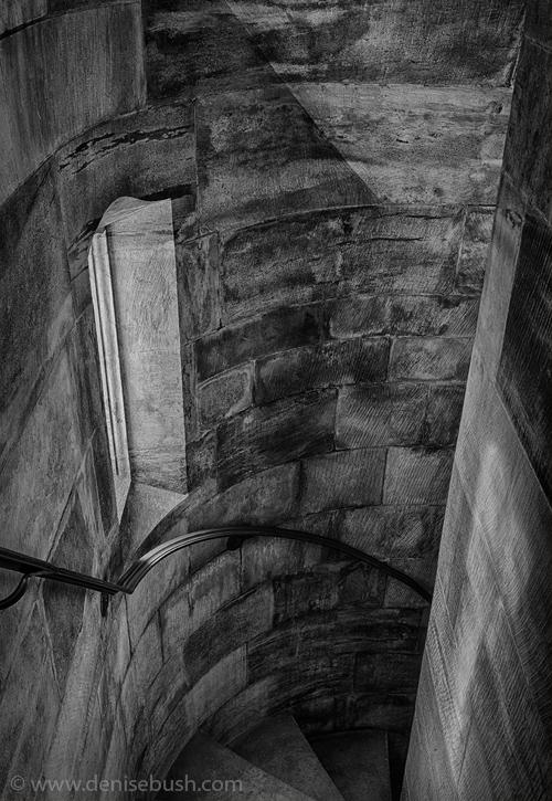 'Secret Stairwell'  © Denise Bush