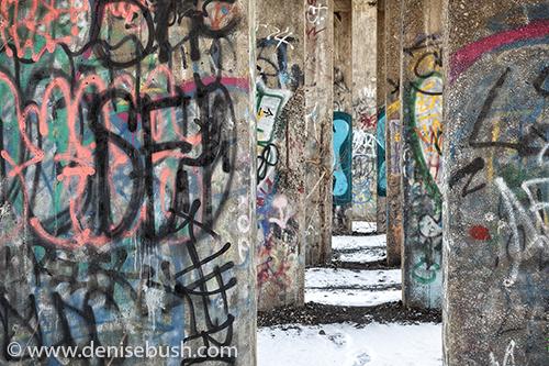 'Concrete Messages'  © Denise Bush