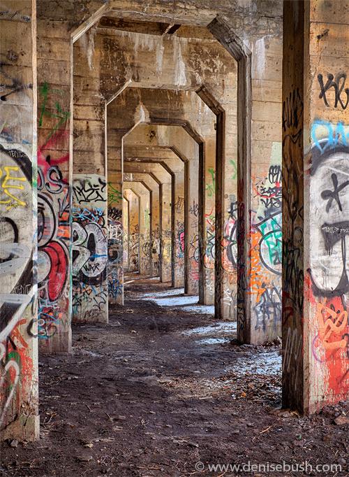 'Graffiti Underground'  © Denise Bush