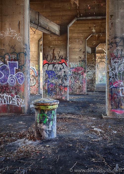'Pipe & Pillars'  © Denise Bush