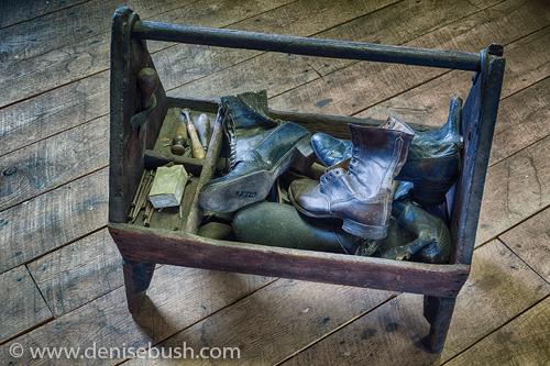 'Cobbler's Caddy'  © Denise Bush