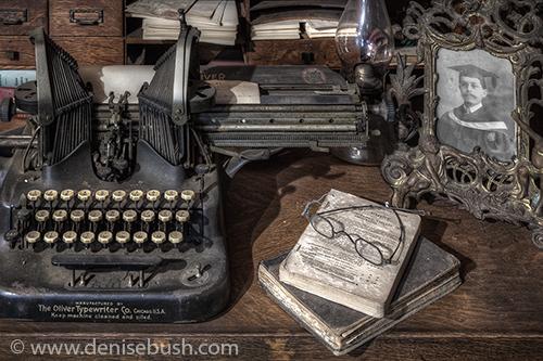 'Desktop Remains'  © Denise Bush