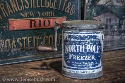 'North Pole Freezer'  © Denise Bush
