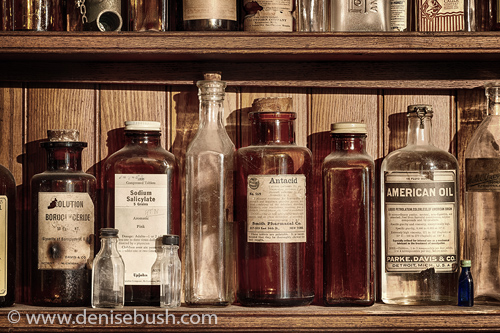 'Old Time Remedies'  © Denise Bush