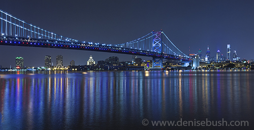 'Panorama At The Bridge'  © Denise Bush