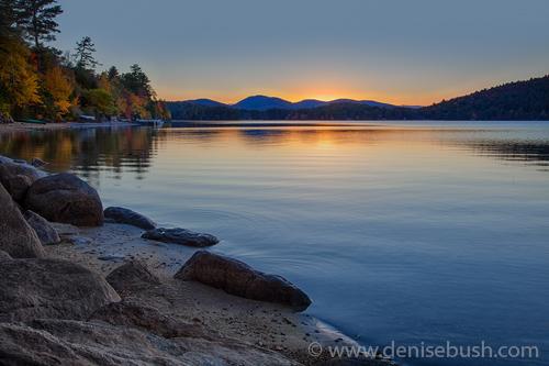 'Sundown At Schroon Lake'  © Denise Bush
