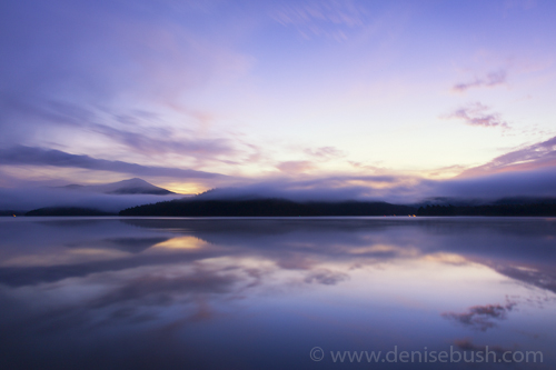 'Lake Placid At Dawn'  © Denise Bush
