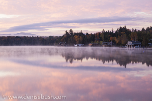 'Pink Sky & Water'  © Denise Bush
