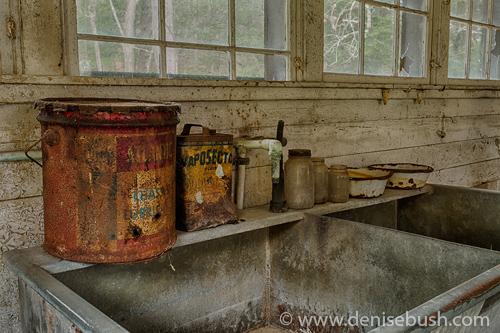 'Abandoned Still-life'  © Denise Bush
