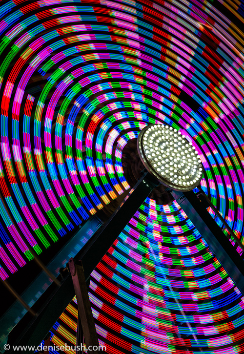 'Ferris Wheel I'  © Denise Bush
