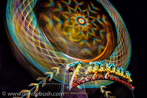 'The Zipper'  © Denise Bush