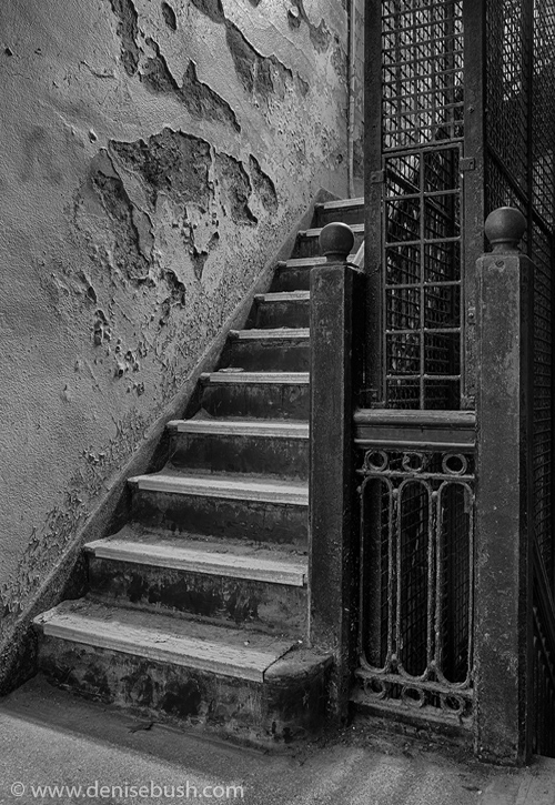 'Stairwell To Nowhere'  © Denise Bush