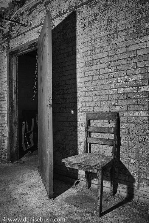 'Three-legged Chair'  © Denise Bush