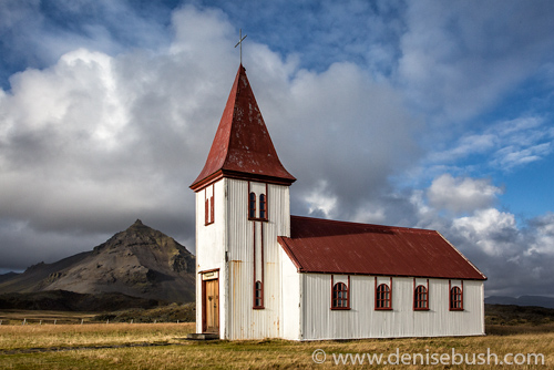 'Church On the Peninsula'  © Denise Bush