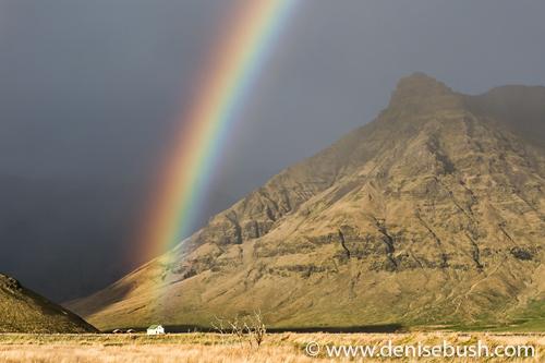 'Mountainside Rainbow'  © Denise Bush