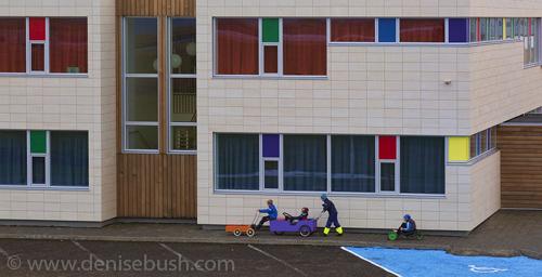 'Colorful People'  © Denise Bush