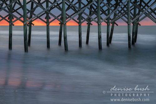 'Under The Pier' © Denise Bush