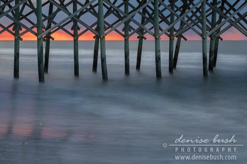 'Under The Pier' © Denise Bush