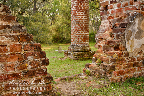 'Brick Ruins'  © Denise Bush