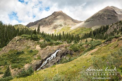 'Basin Falls I' © Denise Bush