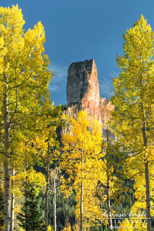 'Chimney Rock Peak' © Denise Bush