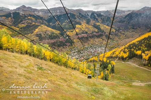 'From Telluride's Mountain Village to Town' © Denise Bush