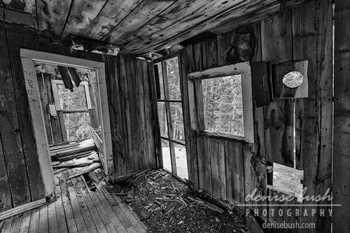 'Miner's Cabin Interior' © Denise Bush
