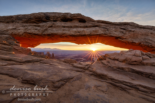 'Another Sunrise at Mesa Arch' © Denise Bush