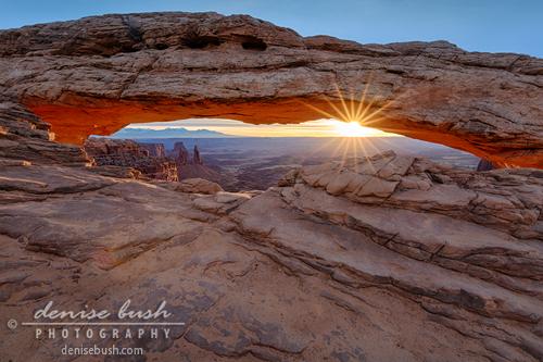 'Awakening at Mesa Arch' © Denise Bush