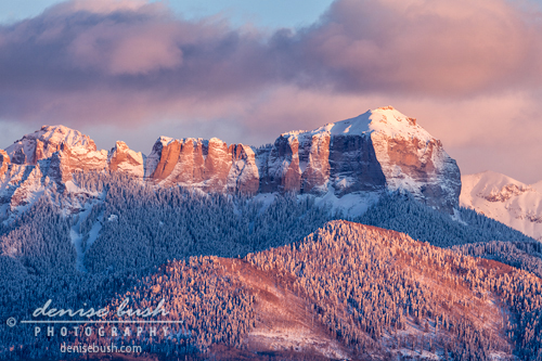 'Court House Mountain Glow' © Denise Bush