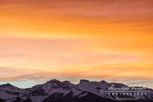 'Fiery Sky' © Denise Bush