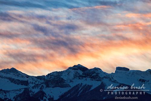 'Painted Sky In Morning' © Denise Bush